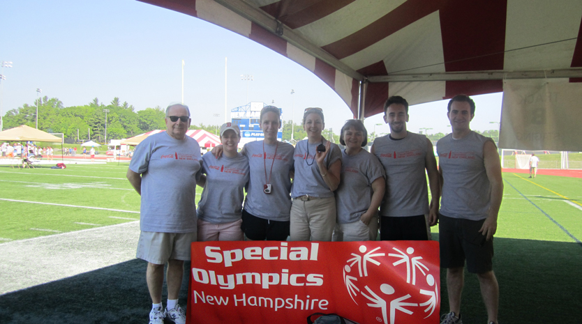 Bianco P.A. volunteers at NH Special Olympics