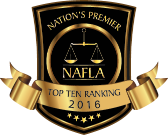 NAFLA Top 10 Ranking Attorney